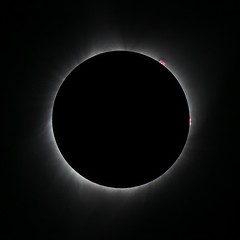 Totality, an eerie moment of truth (PeterThoeny) Tags: weiser idaho sun moon solareclipse totality blacksky day sony tamron tamronsp150600mmf563 600mm 1xp raw photomatix hdr qualityhdr qualityhdrphotography fav200 circle nex6
