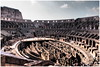 Il Colosseo di Roma (kurtwolf303) Tags: colosseo kolosseum ruinen ruins roma rome rom italy italia italien antik amphitheater architektur architecture amphitheatrumnovum amphitheatrumflavium olympusem5 omd microfourthirds micro43 systemcamera mirrorlesscamera spiegellos kurtwolf303 mft people menschen tourists touristen sky himmel unlimitedphotos topf25 250v10f topf50 topf75 500v20f topf100 750views 900views 1000v40f topf150