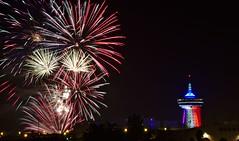 Feu d'artifice Palavas (Marc ALMECIJA) Tags: feu artifice palavas hérault firework night pose long longue ciel sony rx10m3