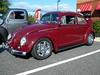 1963 Volkswagen Beetle (splattergraphics) Tags: 1963 volkswagen beetle vw customcar volksrod carshow harfordantiquecarclub chickfila foresthillmd