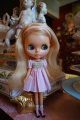 My new Kenner Cutie!!! (Primrose Princess) Tags: 1972 kenner blythe doll blythedoll vintage mod pink smockeddress princess dollydreamland blonde