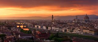 Firenze on fire