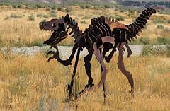 Conglomersaurous (arbyreed) Tags: arbyreed metal steel sculpture folkart statue dinosaur metaldinosaur rustymetaldinosaur iron rusty roadsidedinosaurs campydinosaurs