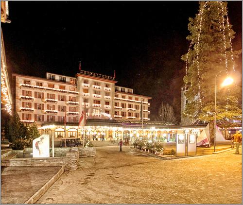 Grand Hotel Zermatterhof, Bahnhofstrasse, Zermatt, Canton du Valais, Switzerland
