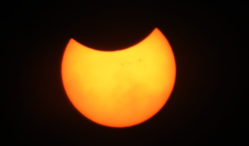 Eclipse parcial 21/Agosto/2017  @ San Salvador, El Salvador. C.A.