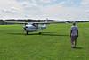 N3707U Cessna 182 tow plane  MAS_8131_edited-1 (massey_aero) Tags: masseyaerodrome vintagesailplaneassociation vsaeastcoastsailplanemeet sailplane glider cessna182towplane