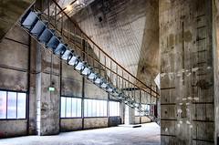 Geraden und Schrägen - geometrische Linien - Kokerei Zollverein ... HDR (gabrieleskwar) Tags: ruhrgebiet kokerei zollverein zeche hdr mauern stufen steine essen treppe fenster formen industriegeschichte industrie