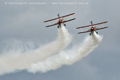 1C5A3338 Wingwalkers (photozone72) Tags: scampton airshows aircraft airshow aviation canon canon7dmk2 canon100400f4556lii 7dmk2 breitlingwingwalkers breitling stearman boeing biplane props wingwalkers