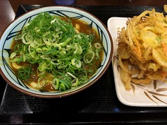 Curry udon from Marugame Seimen @ Roppongi (Fuyuhiko) Tags: curry udon from marugame seimen roppongi うどん カレー カレーうどん 六本木 丸亀製麺 tokyo 東京