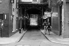 New York City | FiDi Streetscape 02 (Christopher James Botham) Tags: nyc newyork newyorkcity manhattan lowermanhattan fidi financialdistrict maiden maidenlane maidenln street streetscape city cityscape urban blackwhite mono greyscale grayscale building architecture