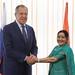 С. Лавров и С. Сварадж | Sergey Lavrov & Sushma Swaraj