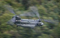 Royal Air Force Chinook CH-47 HC5 (ZH903) (benstaceyphotography) Tags: royal air force chinook ch47 hc5 zh903 lakes lake district motion blur rotors panning trees low helicopter boeing nikon aviation military odiham raf