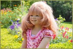 Margie ... (Kindergartenkinder) Tags: schlossanholt dolls himstedt annette park kindergartenkinder sommer wasserburg margie isselburg garten