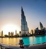Cubert à Dubaï (Firmin_) Tags: travel voyage dubaï eau uae trip building gratteciel water landscape skyscraper burj khalifa nikon d3000 samyang fisheye robot cubert