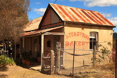 Stuart Town Bakery (Darren Schiller) Tags: abandoned australia architecture advertising building bakery closed derelict disused decaying deserted dilapidated empty facade history heritage iron newsouthwales old rural rustic ruins rusty smalltown shop store stuarttown