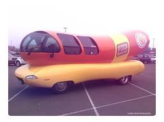 Wienermobile - HSS! (JSB PHOTOGRAPHS) Tags: img7849edit oscarmayer fortheloveofhotdogs wienermobile hss sliderssunday oscrmyr target g gatewaymall ipodtouch ipod