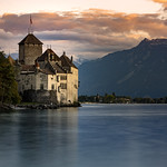 Château de Chillon sunset