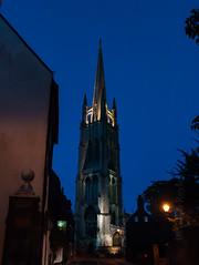 DSC_7361 (Adrian Royle) Tags: lincolnshire louth walk bimble town blue bluehour shops church pub architecture nikon street road spire shop