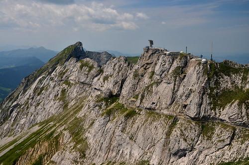 Mt. Pilatus, view from Esel summit