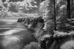 Kieler Ufer (hansekiki ) Tags: rügen jasmund nationalpark ostsee balticsea infrared infrarot landschaften küste canon5d wald baum bäume trees