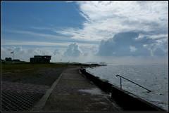 Küste (Barbara Wenzel-Winter) Tags: nordsee nordseebad wremen bremenundumzu wursterland niedersachsen dernorden landschaften himmel wolken