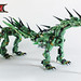 LEGO Ninjago Movie Green Mech Dragon