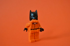 Greedy Bats (th_squirrel) Tags: lego dc comics batman minifig minifigs minifigures minifigure orange