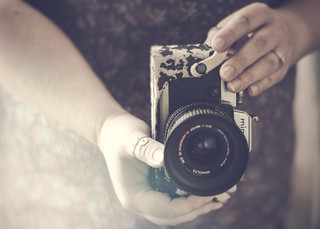 ~When I have a camera in my hand, I know no fear.
