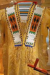 DSC09118 - Indian Garment (archer10 (Dennis) 107M Views) Tags: ontario sony a6300 ilce6300 18200mm 1650mm mirrorless free freepicture archer10 dennis jarvis dennisgjarvis dennisjarvis iamcanadian novascotia canada toronto rom royalontariomuseum museum indian garment leather beads