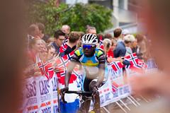 UCI Road World Championships 2017 (TimOve) Tags: 2017roadworldchampionships sykkelvm2017 bergen norway cycling meneliteroadrace sykling mesterskap 2vm norwegianflags crowd celebration competition salmonhill laksebakken valensndayisenga rwanda