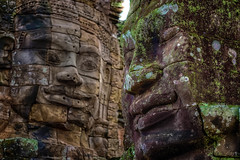 Ancient smiles (Stan Smucker) Tags: bayon cambodia ruins temple