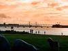 Ribersborgsstranden (Paul und Lotte) Tags: malmö schweden sweden öresund öresundbrücke bridge oresund ribersborgsstranden