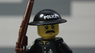 Lego WWII: British Brodie Constable
