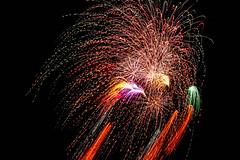 Fireworks. (Peapotty) Tags: fe night fireworks 花火 久留米 a7ii matsuri lowlight kurume festival 55mm kurumeshi fukuokaken japan jp