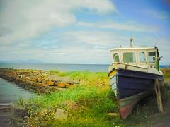 Left over (Nicolas Valentin) Tags: dunure boat sea ayrshire