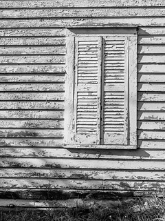 Weathered Shutter