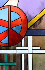Stained Glass - Finkenberg Austria - July17 (12) (ailognom2005) Tags: stainedglasswindows colouredglass finkenberg austria zillertalaustria zillertal religion chapelofrest