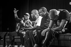 IMG_9908 (Brother Christopher) Tags: blackandwhite monochrome monochromatic explore explored live show liveshow podcast audio audiodocumentary npr gimeltmedia loudspeakersnetwork combatjack reggieosse chrislighty brotherchris hiphop hiphopculture mogul cultre event events talk discussion panel interview
