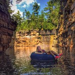 Floating - Ausable Chasm thumbnail