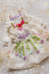 Handmade Embroidered Dresses (Ylang Garden) Tags: handmade embroidery embroidered latiyellow pukifee