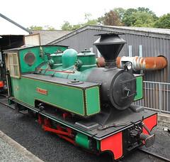 Superb (Mike 7416) Tags: bagnall alpha class superb welshpool llanfair railway sittingbourne kemsley