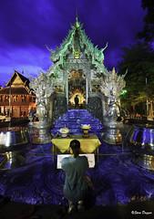 0S1A4749 (Steve Daggar) Tags: chiangmai thailand travel buddhist monk markets street candid asia