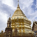 La Estupa Dorada, Wat Phrat That Doi Suthep, Chiang Mai, Tailandia