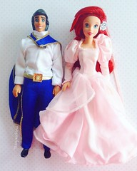 Dancing Princess Ariel and Eric (TheGreatSpid) Tags: dancing princess ariel eric disney doll dolls mini mattel