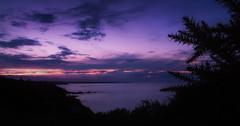 Roselier Ombre ciel violet (zqk09) Tags: france canon paysage landscape night nuit violet sun sunset sunlight soleil coucher ombre nature sky ciel cloud nuage lueurs