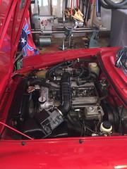 (kschwarz20) Tags: alfaromeo spider 1987 quadrifoglio engine alfa kts