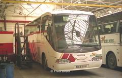 Bus Eireann SI16 (98D37152), (Fred Dean Jnr) Tags: april1999 buseireann broadstonedepotdublin broadstone buseireannbroadstonedepot scania irizar si16 98d37152 r472ydt 98d73347