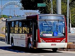 7 4045 VIP - Unidade M´Boi Mirim (busManíaCo) Tags: busmaníaco ônibus bus nikond3100 nikon d3100 vip unidade m´boi mirim caio millennium ii mercedesbenz o500u