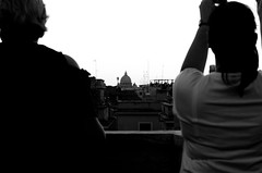 ROME (Emma Gavagna) Tags: rome roma city europe italy travel shooting photography church architecture black blackandwhite art love 50mm shadows sky clouds cloudy people bokeh landscape places couple