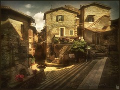 """From the series """"Walks in Italy"""" (odinvadim) Tags: mytravelgram paintfx textured textures iphone editmaster travel iphoneography sunset evening iphoneonly church painterly artist snapseed landscape photofx specialist iphoneart graphic painterlymobileart"""